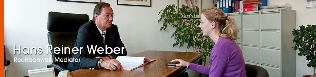 Rechtsanwalt Weber Hans Reiner